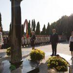 """Президент, спикер и премьер вместе возложили цветы на Мемориале воинской славы """"Вечность"""" (ВИДЕО)"""