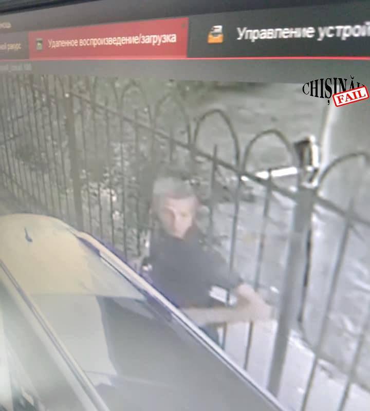 В столице разыскивают мужчину, подозреваемого в краже (ФОТО)