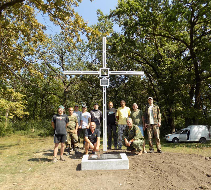 На Шерпенском плацдарме был установлен новый памятный знак в честь героев ВОВ (ФОТО)