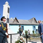 Додон принял участие в открытии памятника героям ВОВ (ФОТО, ВИДЕО)