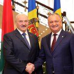 Додон поздравил Лукашенко с юбилеем