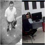 Столичная полиция разыскивает двоих нарушителей: они подозреваются в краже и мошенничестве