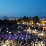 Тысячи людей приняли участие в открытии восстановленного стараниями социалистов фонтана в Долине роз (ФОТО, ВИДЕО)