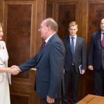 Гречаный - послу России: Парламент Молдовы выступает за укрепление стратегического партнерства с РФ (ФОТО)