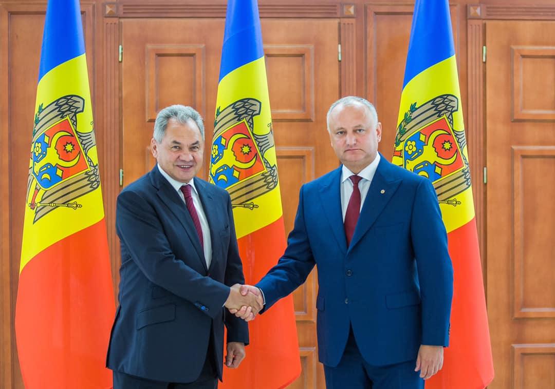 Шойгу на встрече с Додоном: Россия предлагает начать процесс утилизации боеприпасов на складе близ села Колбасна (ФОТО)