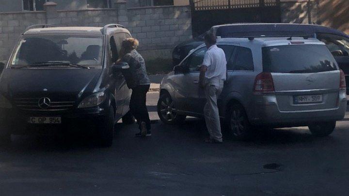 ДТП в столице: двое не поделили перекрёсток (ФОТО)