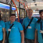 Водителей и кондукторов столичных троллейбусов облачили в новую форму (ФОТО)