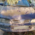 Из-за короткого замыкания в Тирасполе загорелся легковой автомобиль (ФОТО)