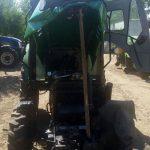 Пьяный слесарь сел за руль трактора и попал на нём в ДТП (ФОТО)