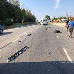 Рейсовый микроавтобус попал в аварию: три пассажира госпитализированы (ФОТО)