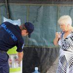 Более 3 500 человек обратились за помощью в палатки «антижара» за последние сутки