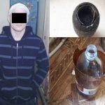 Угрожал ножом и отнял деньги: сотрудники полиции задержали подозреваемого в грабеже (ВИДЕО)