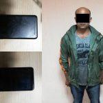 Столичные полицейские задержали рецидивиста, отобравшего у подростка телефон (ВИДЕО)