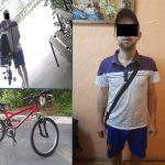 Продал на рынке два украденных велосипеда: столичная полиция задержала нарушителя-рецидивиста (ВИДЕО)