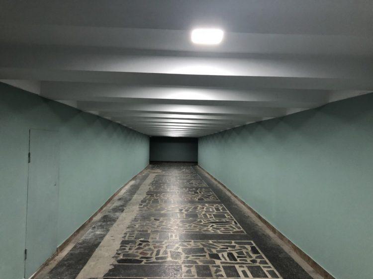 В Кишинёве модернизируют подземный переход на улице Чуфля (ФОТО)