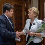Зинаида Гречаный получила юбилейную медаль Республики Беларусь