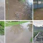 Сильный дождь с градом нанёс ущерб Глодянскому району (ФОТО)