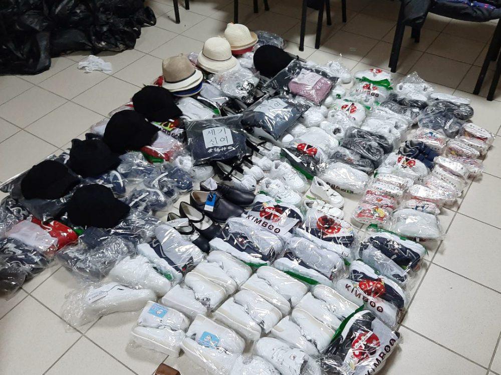 Контрабанда на границе: таможенники изъяли монеты, оборудование, одежду и обувь на сотни тысяч леев (ФОТО)