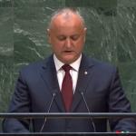 Игорь Додон выступил на Генассамблее ООН и на русском языке: Мы будем дружить и взаимодействовать со всеми нашими партнерами!