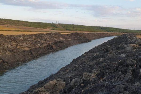 В Комрате ведут работы по расширению русла реки Ялпуг