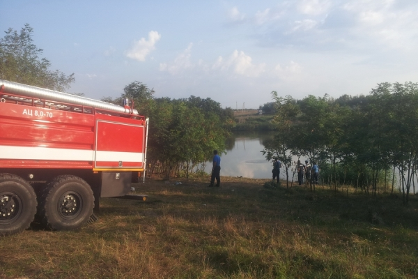 Мужчина утонул в озере Тараклийского района