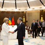 Зинаида Гречаный провела встречу с вице-премьером КНР