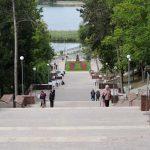 В парке «Валя Морилор» открылась реконструированная гранитная лестница
