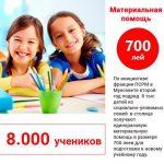 По инициативе социалистов второй год подряд 8 тысяч детей в Кишиневе получают материальную помощь к новому учебному году