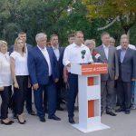 Александр Нестеровский подал документы для регистрации кандидатом ПСРМ на должность примара Бельц (ФОТО)
