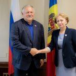 Спикер провела встречу с Первым зампредседателя Комитета по делам СНГ Госдумы РФ (ФОТО)