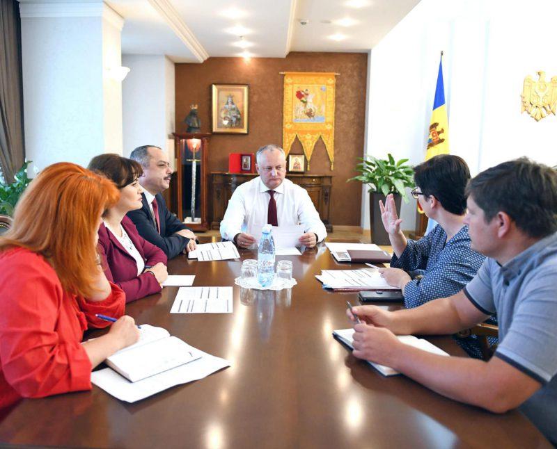Додон о фестивале «ТЭФИ-Содружество»: Первое столь масштабное мероприятие в области СМИ, проводимое в Молдове (ФОТО, ВИДЕО)