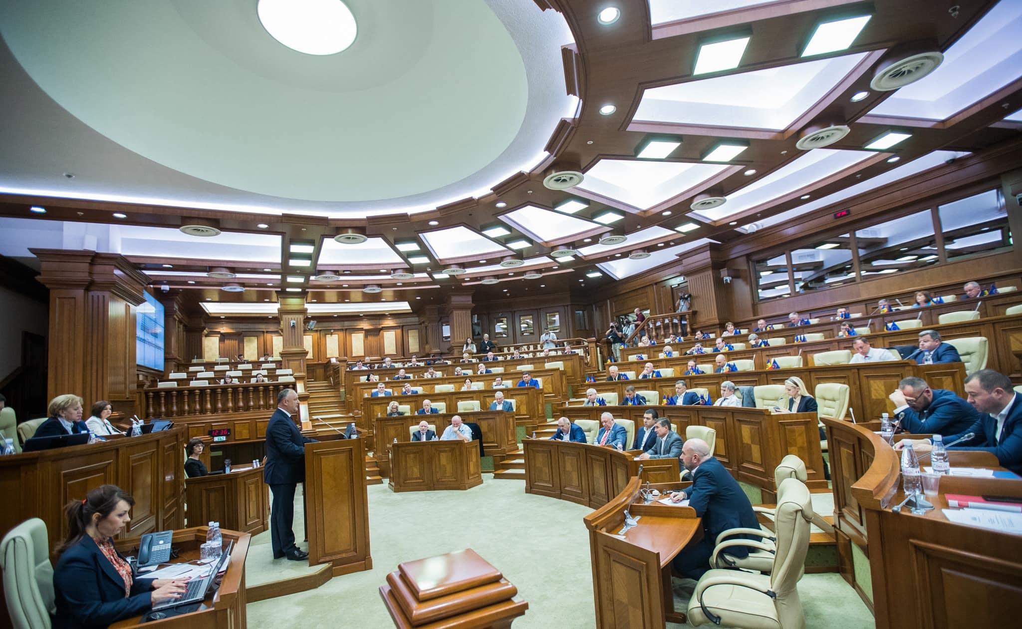 """Додон – ПСРМ и блоку """"АКУМ"""": Не забывайте, что цель возрождения страны важнее любого электорального соревнования"""