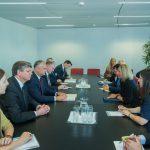 Додон встретился с Верховным Представителем ЕС по внешней политике и безопасности (ФОТО, ВИДЕО)