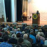 Встреча при полном зале: Зинаида Гречаный пообщалась с жителями Дрокии (ФОТО)