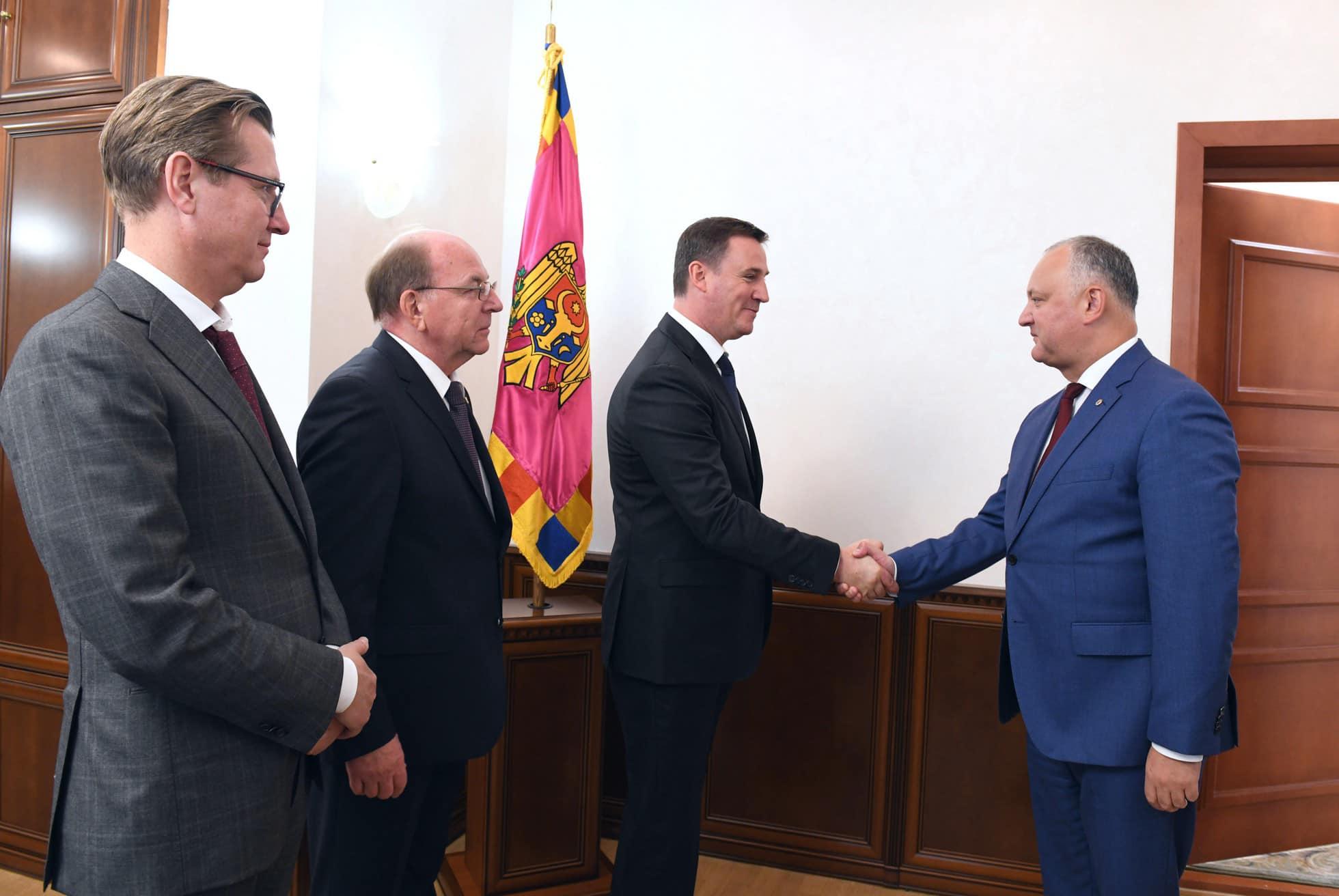 Встреча Додон – Патрушев: Президент выступил за восстановление полноформатного сотрудничества Молдовы и России (ФОТО, ВИДЕО)