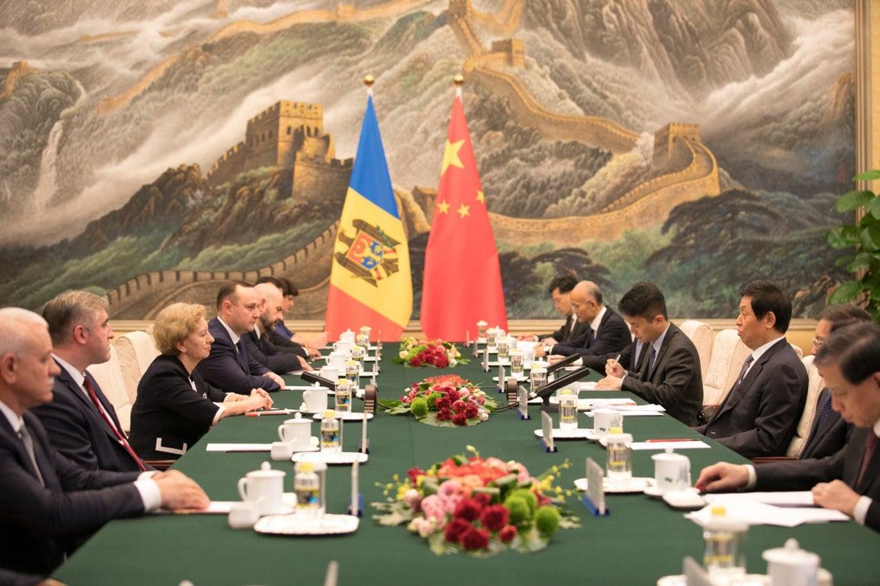 Гречаный предложила руководству Китая открыть промышленный парк в Молдове (ФОТО)
