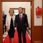 Зинаида Гречаный провела встречу с председателем одной из двух палат Парламента Республики Казахстан (ФОТО)