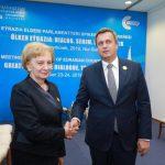 Гречаный выступила за углубление и расширение сотрудничества между Молдовой и Словакией (ФОТО)