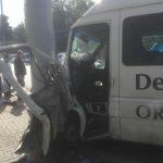 Подробности столичного ДТП с микроавтобусом: водитель перенёс микроинфаркт