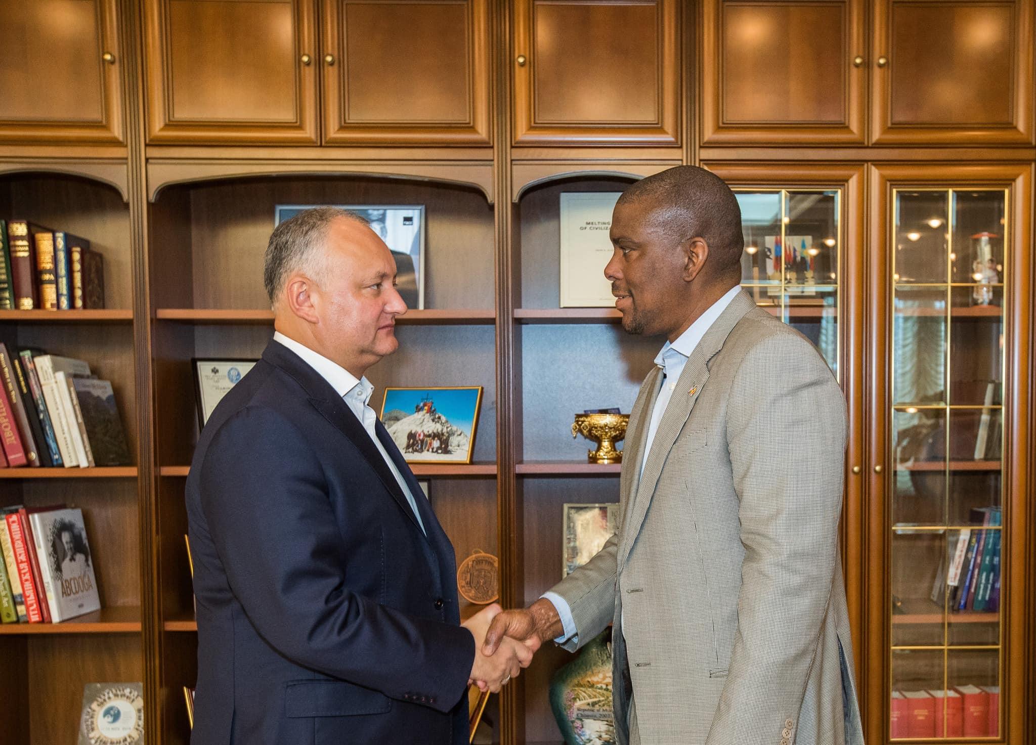 Додон провел встречу с послом США в Молдове (ФОТО)