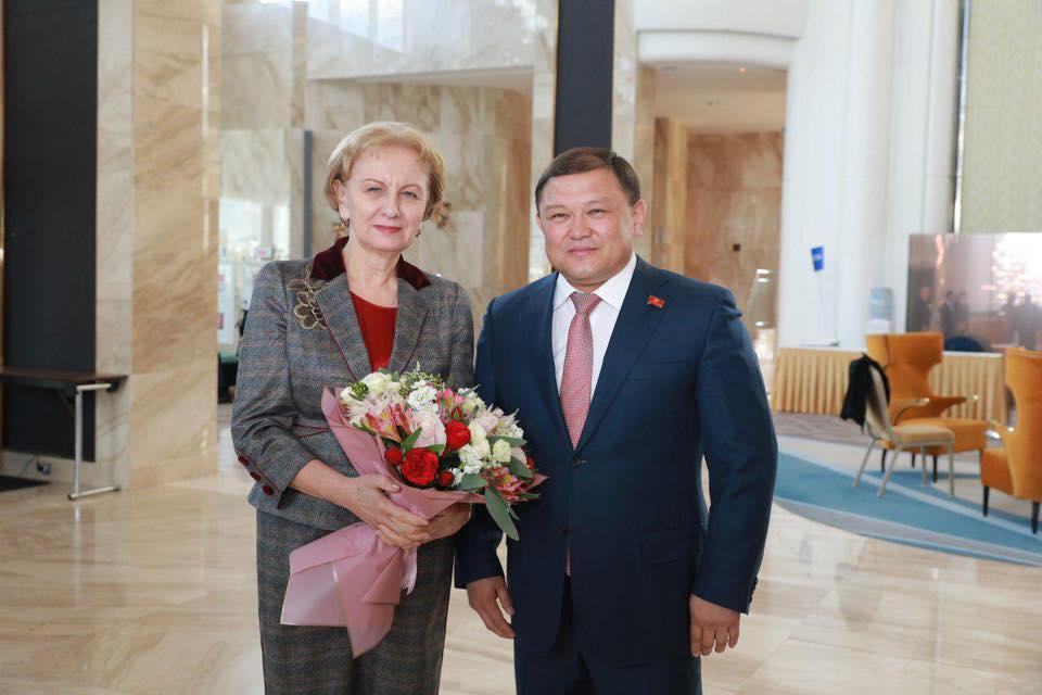 Зинаида Гречаный получила приглашение совершить официальный визит в Кыргызстан (ФОТО)