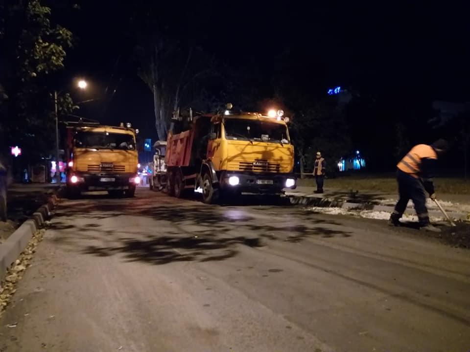 Благодаря социалистам капитальный ремонт улицы Зелинского движется полным ходом (ФОТО)