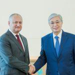 Игорь Додон провел встречу с президентом Казахстана (ФОТО, ВИДЕО)