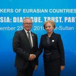 Гречаный провела встречу с председателем Федерального совета Парламента Австрии (ФОТО)