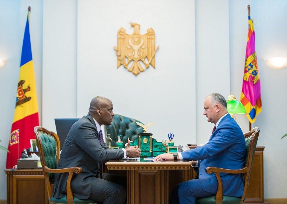 Игорь Додон обсудил свой предстоящий визит в США с послом этой страны в Молдове (ФОТО, ВИДЕО)