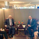 Игорь Додон провел в Нью-Йорке встречу с президентом Латвии