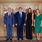 Фото дня: Игорь Додон и Дональд Трамп вместе с первыми леди