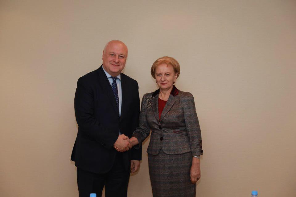 Спикер провела встречу с председателем Парламентской ассамблеи ОБСЕ (ФОТО)