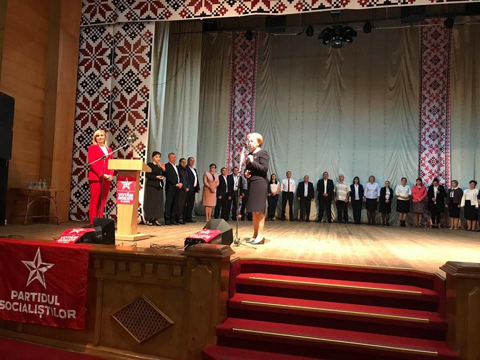 Зинаида Гречаный совершила визит на север Молдовы и представила команды кандидатов ПСРМ в Дондюшанах, Окнице и Сороке (ФОТО)
