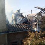 Пожар в Слободзее: спасатели боролись с огнём более двух часов (ФОТО)